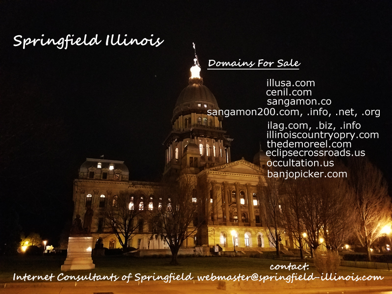 Springfield Illinois - Domains For Sale